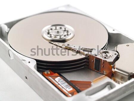 Computer circuito ricordo chip cpu Foto d'archivio © Frankljr
