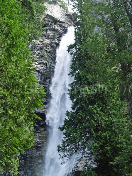 Beautiful Mountain Waterfall Stock photo © Frankljr