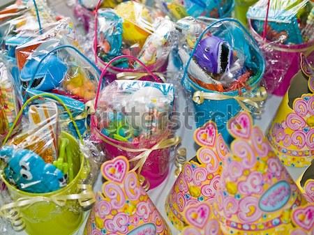 Birthday Favors for a Little Girl Stock photo © Frankljr
