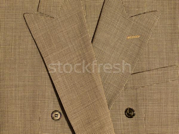 Fotograma completo tejido detalle trajes fondo tela Foto stock © Frankljr