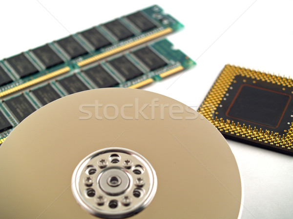 Computer Parts Stock photo © Frankljr