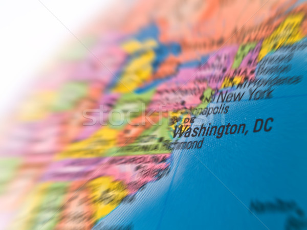 Global Studies - Focus on the City of Washington DC Stock photo © Frankljr
