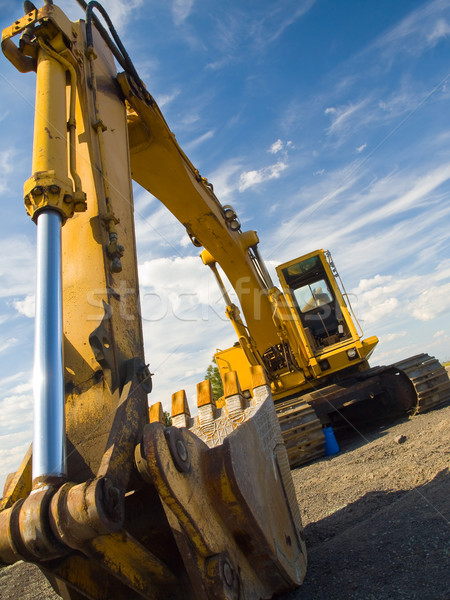 Heavy Duty Construction Equipment Stock photo © Frankljr