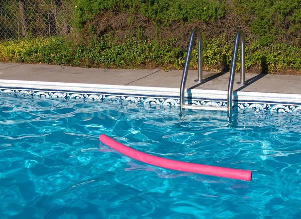 Blue Swimming Pool Stock photo © Frankljr