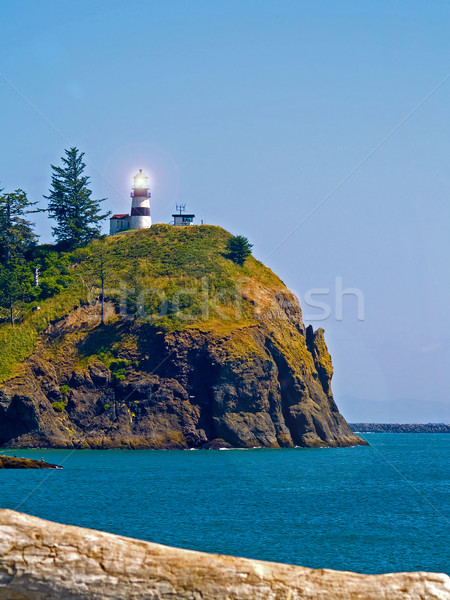 Lighthouse - Cape Disappointment WA USA Stock photo © Frankljr