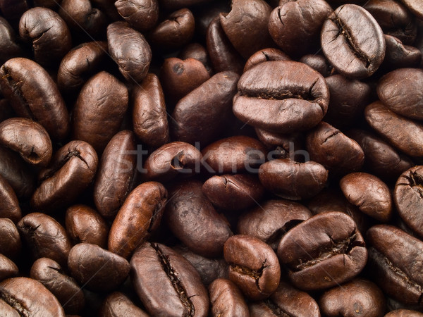Coffee Beans Filling the Frame as a Background Stock photo © Frankljr