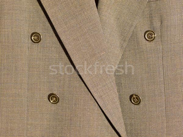 Full frame weefsel detail suits achtergrond doek Stockfoto © Frankljr