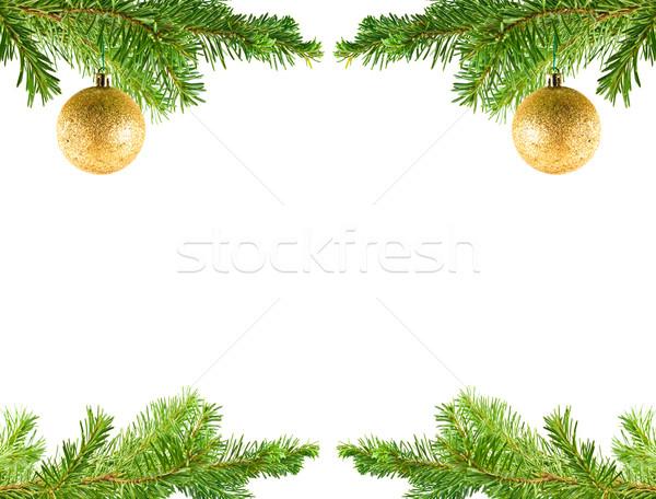 Albero di natale vacanze ornamento impiccagione evergreen ramo Foto d'archivio © Frankljr