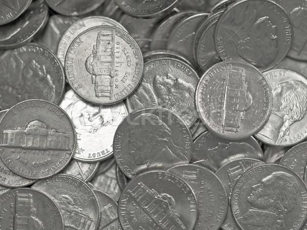 Pile of United States Coins  Stock photo © Frankljr