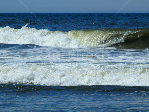 Ocean Waves Breaking on Shore Stock photo © Frankljr