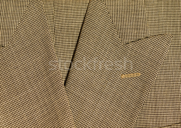 Full Frame Background of Fabric and Detail from Mens Suits Stock photo © Frankljr