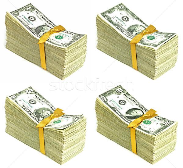 Ouder Verenigde Staten valuta lint business Stockfoto © Frankljr