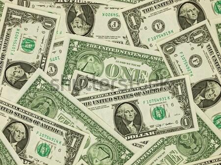 Köteg száz dollár bankjegyek pénz üzlet bank Stock fotó © Frankljr