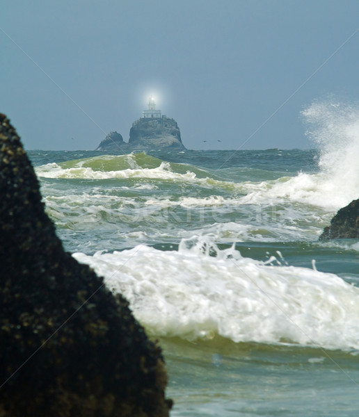 Terrible Tilly Lighthouse on Oregon Coast Stock photo © Frankljr