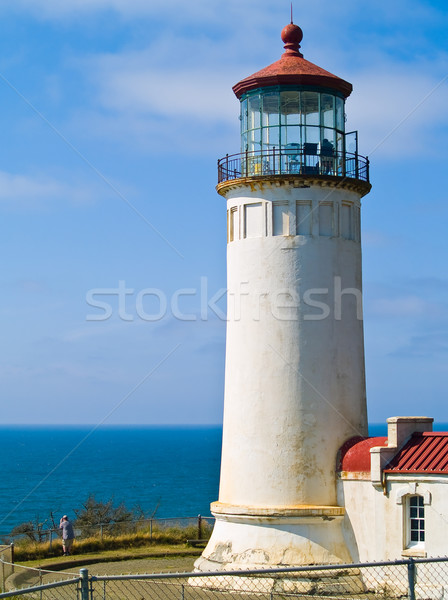 North Head Lighthouse on the Oregon Coast  Stock photo © Frankljr