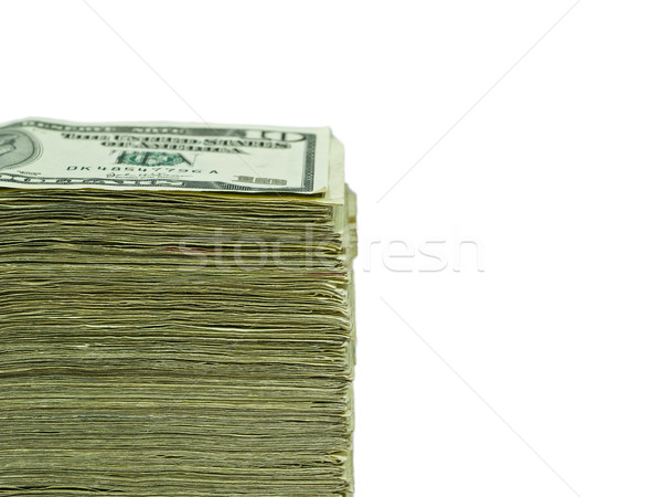 Stack of United States currency Stock photo © Frankljr