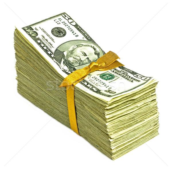 Neue Vereinigte Staaten Währung Band Stock foto © Frankljr