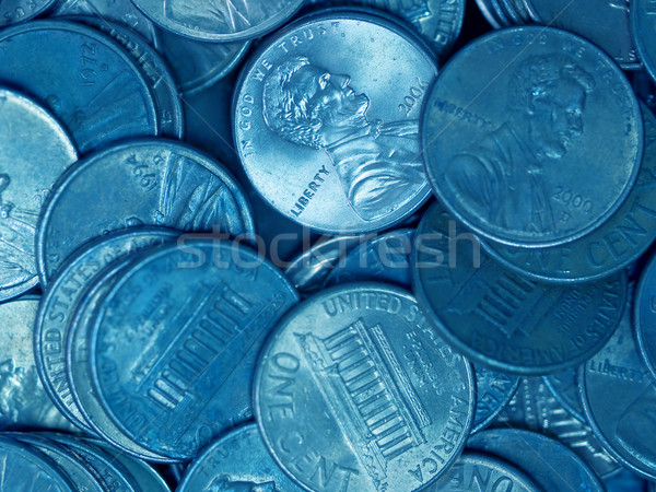 Pile of United States Coins  Stock photo © Frankljr