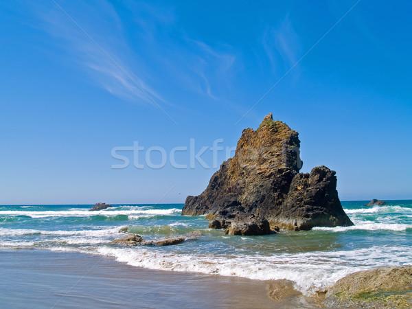 Rugged Rocky Beach on the Oregon Coast Stock photo © Frankljr