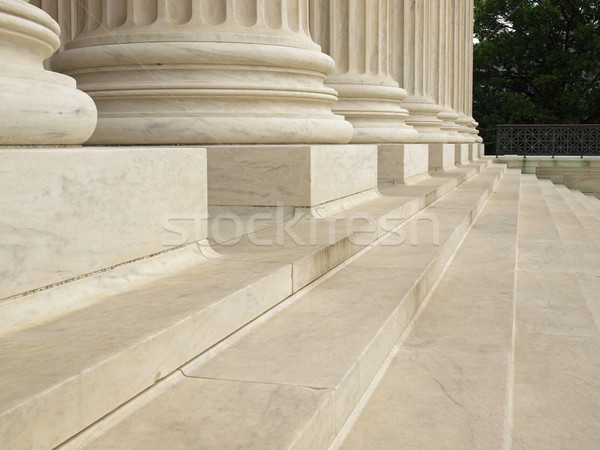 Steps and Columns at the Entrance of the United States Supreme Court Stock photo © Frankljr
