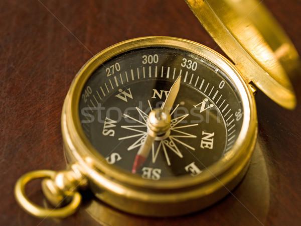 Brass Compass Stock photo © Frankljr