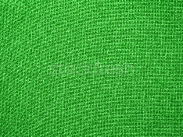 Burlap Green Fabric Texture Background Stock photo © Frankljr