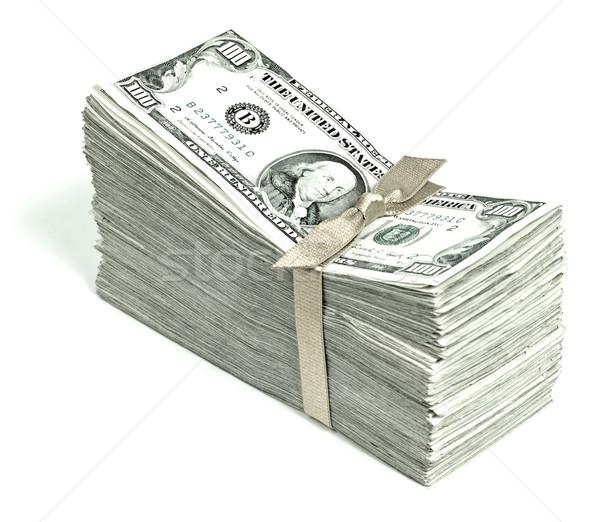 Соединенные Штаты валюта лента бизнеса деньги Сток-фото © Frankljr