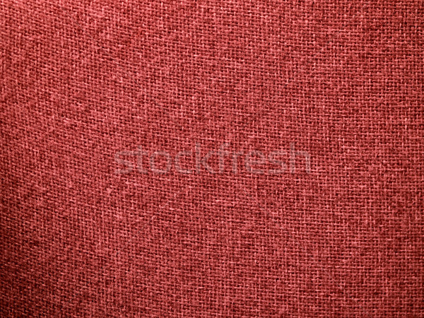 Burlap Red Fabric Texture Background Stock photo © Frankljr