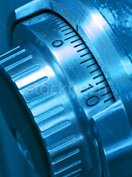 Closeup of a Safe Vault Stock photo © Frankljr