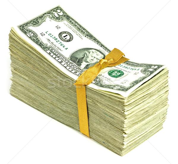 Estados Unidos moeda fita negócio Foto stock © Frankljr