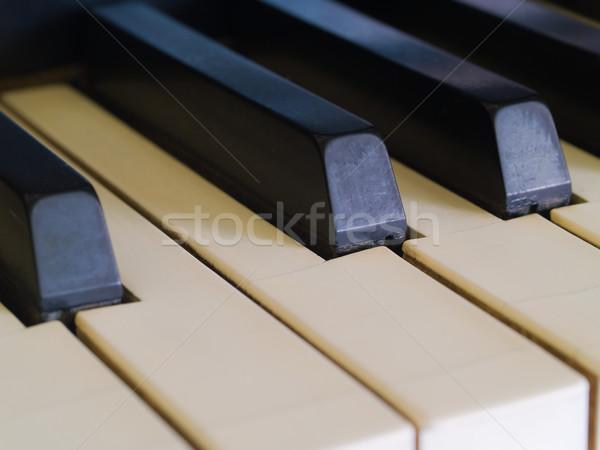 Piano Keys Stock photo © Frankljr