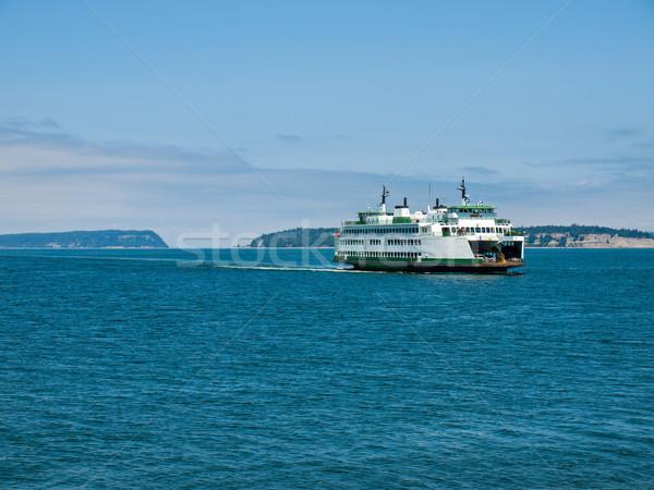 フェリー ワシントン 水 風景 海 コンパス ストックフォト © Frankljr