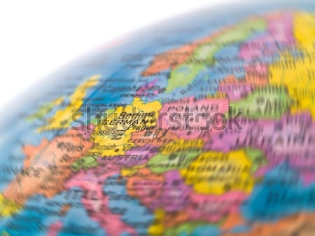 Global Studies of Europe with Emphasis on Germany Stock photo © Frankljr
