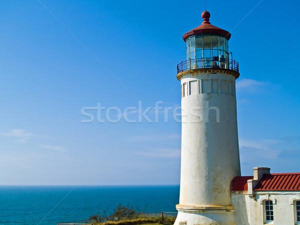 Stock photo: North Head Lighthouse on the Oregon Coast