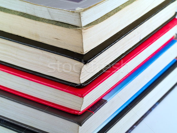 Stack of Old Textbooks Stock photo © Frankljr