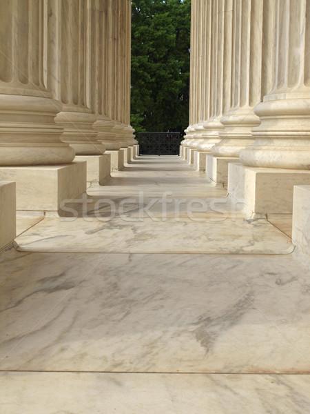 Columns at the United States Supreme Court Stock photo © Frankljr