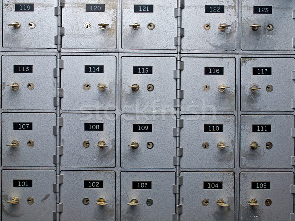 Safety Deposit Boxes Stock photo © Frankljr