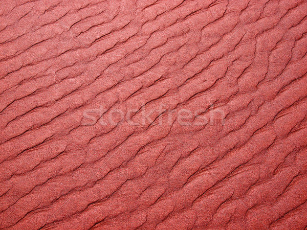 Abstract background of sand ripples at the beach  Stock photo © Frankljr
