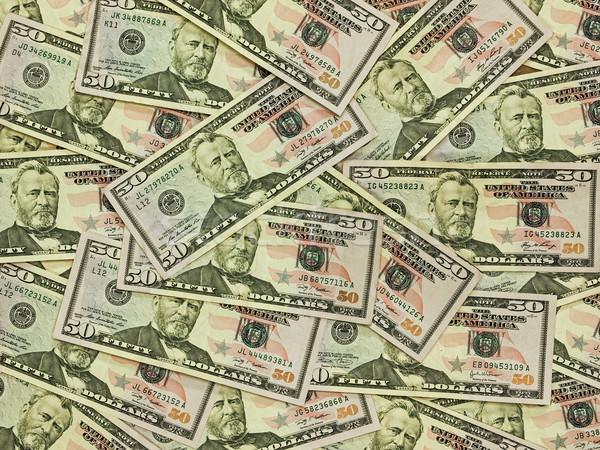 Köteg ötven dollár bankjegyek pénz üzlet bank Stock fotó © Frankljr