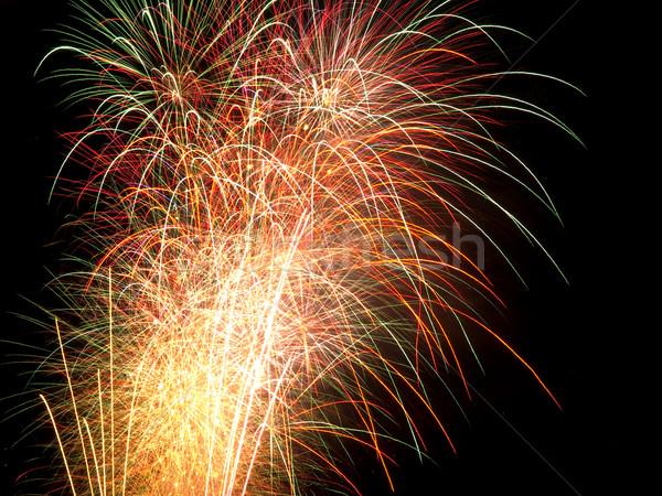 Long Exposure of Fireworks Stock photo © Frankljr