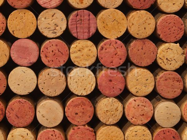 используемый вино шаблон бутылку жизни студию Сток-фото © Frankljr