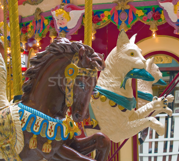 Carousel Animals Stock photo © Frankljr