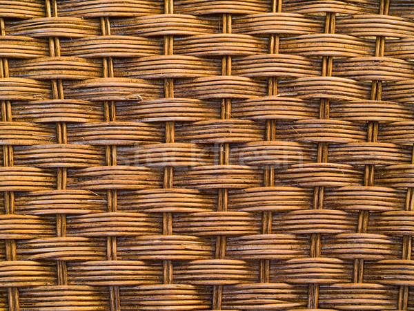 Woven wicker or chair texture for background uses Stock photo © Frankljr