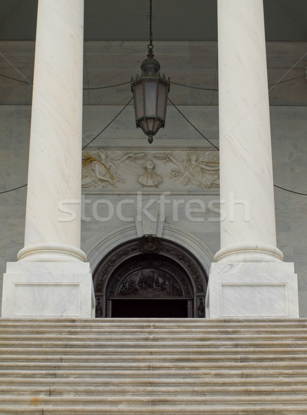 Foto stock: Capitólio · edifício · Washington · DC · detalhes · arquitetura · branco