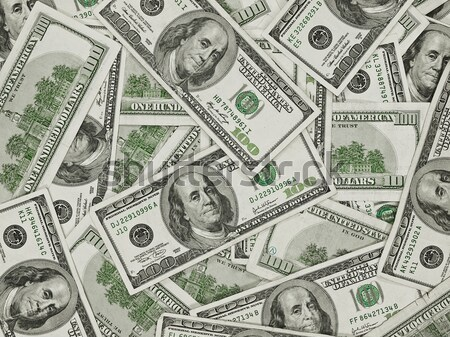 A Pile of Hundred Dollar Bills as a Money Background Stock photo © Frankljr