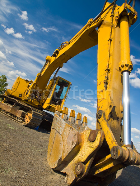 Heavy Duty Construction Equipment Stock photo © Frankljr