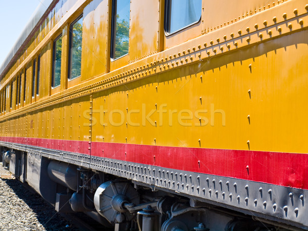 Old-Fashioned Passenger Train Stock photo © Frankljr