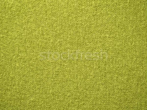 çuval bezi sarı kumaş doku arka Stok fotoğraf © Frankljr
