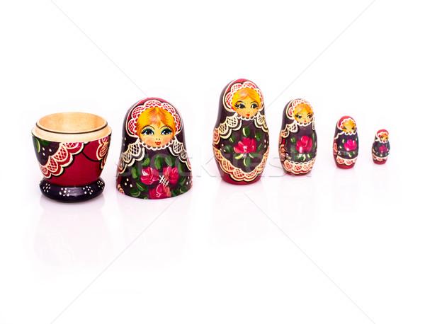Russian nesting dolls Stock photo © franky242