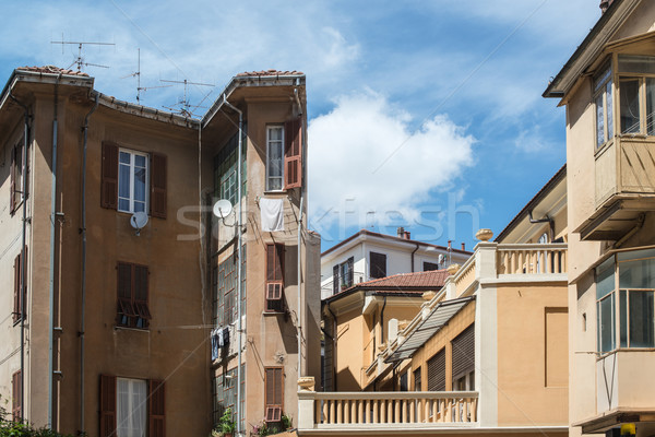 Typical Italian Facades Stock photo © franky242